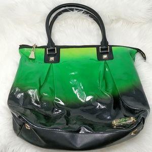 LAMB Manchester Rainforest Purse Ombre Green Bag